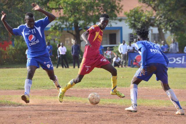 Action between YMCA and Nkumba