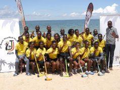 Beach woodball World Cup team