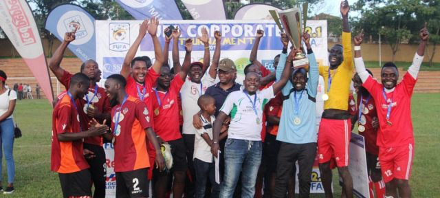 Red Pepper team celebrates after being crowned 2018 champions