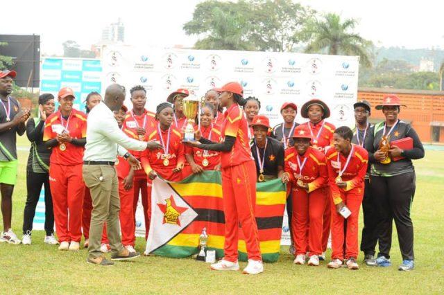 Zimbabwe won the Victoria Tri-Series