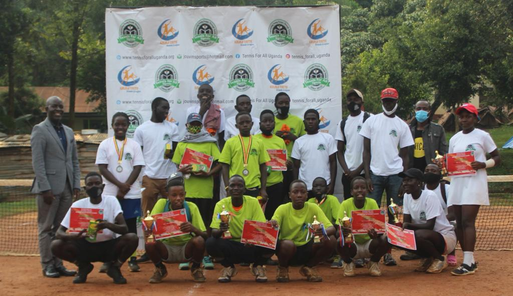 Inaugural Kololo Youth Tennis League Winds Down
