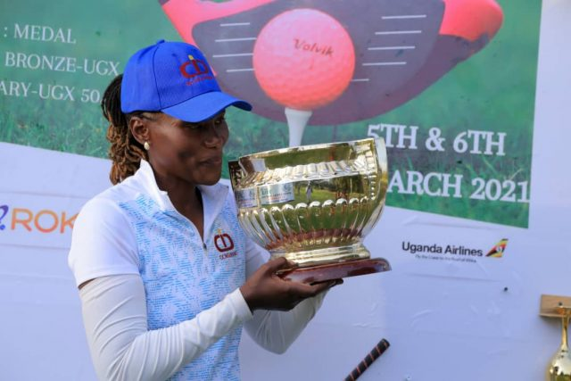 Irene Nakalembe Wins 7th Successive Entebbe Ladies Open