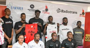 Basketball: Nam Blazers Seal Partnership With Motorola