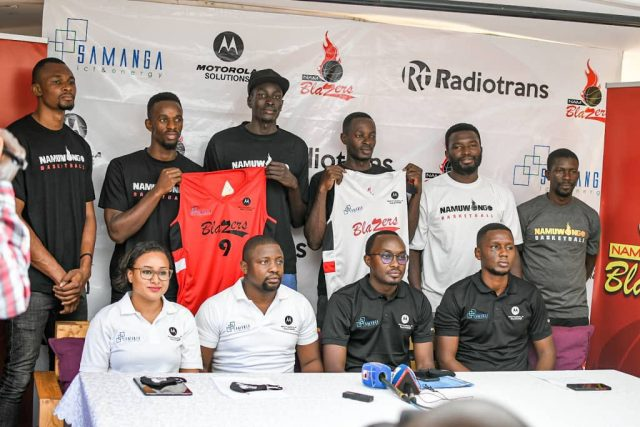 Basketball: Nam Blazers Seal Partnership With Motorola