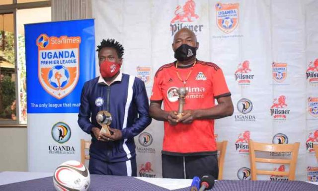 Brian Muruli, Fred Kajoba Crowned As UPL's Best For February