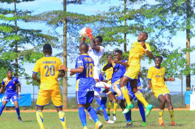 UPL Second Round Fixtures Out