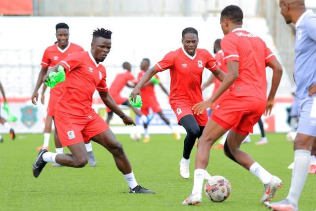 Cranes conduct final training session ahead of Malawi clash