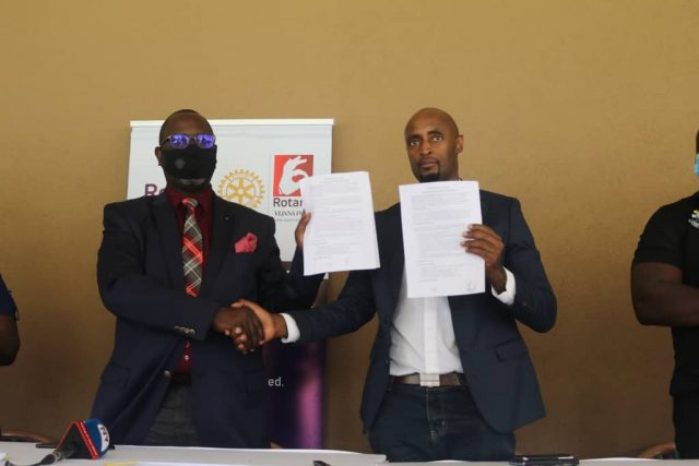 Rhinos, Rotary sign MoU aimed at tackling youth challenges