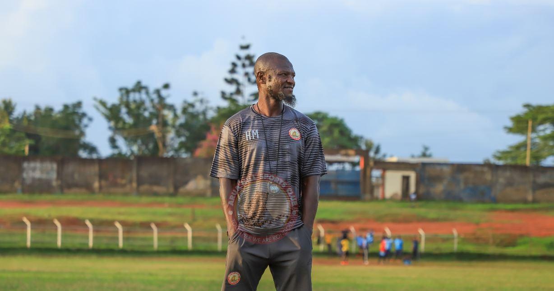 Arua Hill SC coach Hussein Mbalangu. Photo by Arua Hill SC media