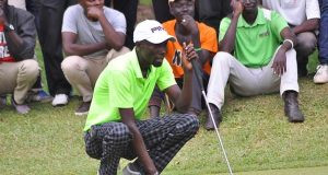 Rugumayo wins pro category of Captain's Bell Golf Tournament