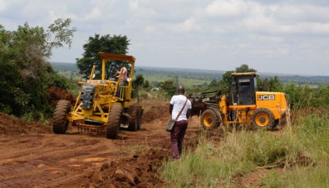 Works at Aliguma Foundation & Empowerment Centre started this week